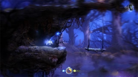 ori and the blind forest精灵之树游戏攻略8