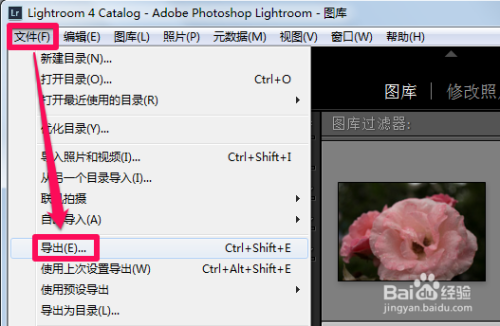 photoshop lightroom破解版如何添加水印2